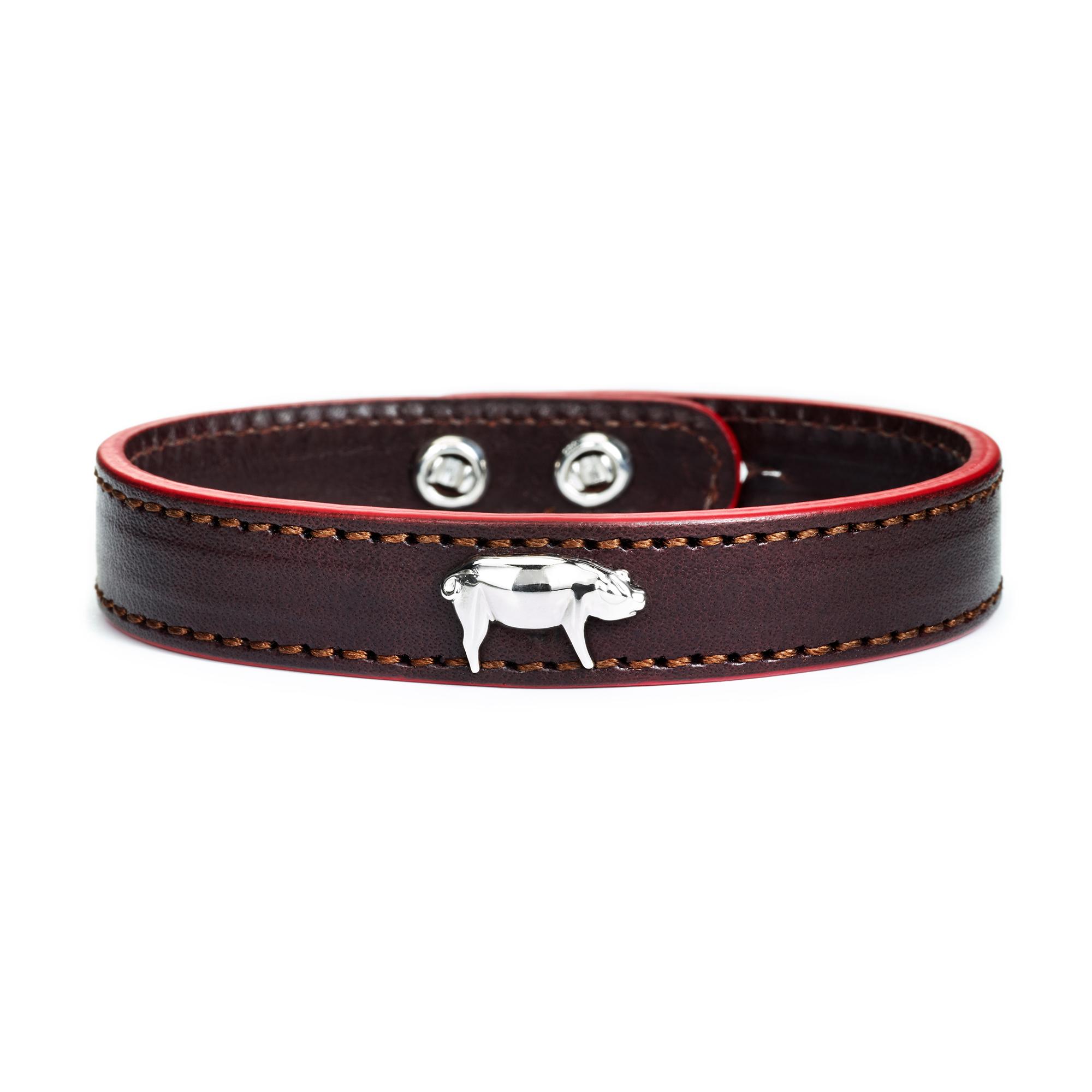Thick Cuts Pig Bracelet