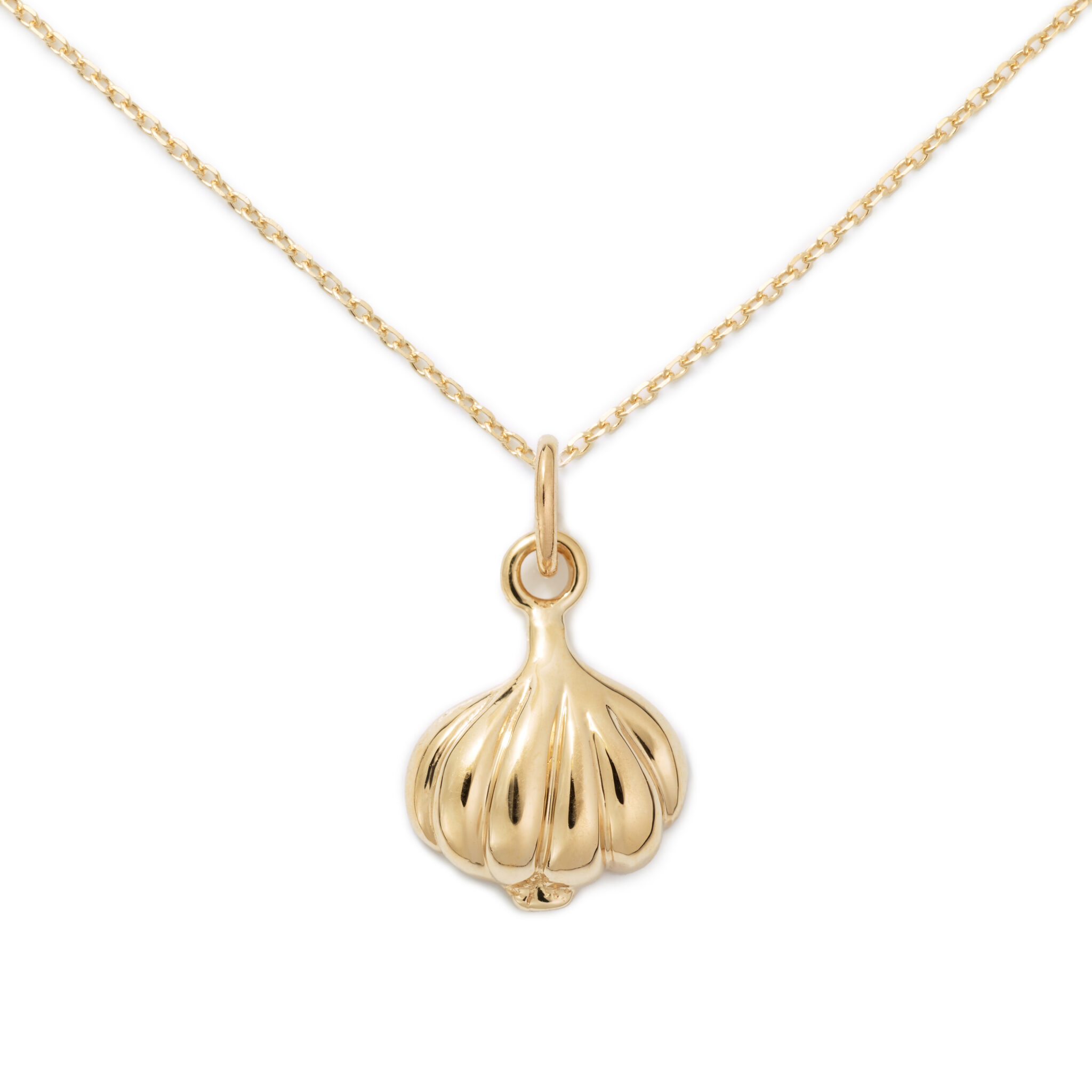 Gold Plated Garlic Necklace