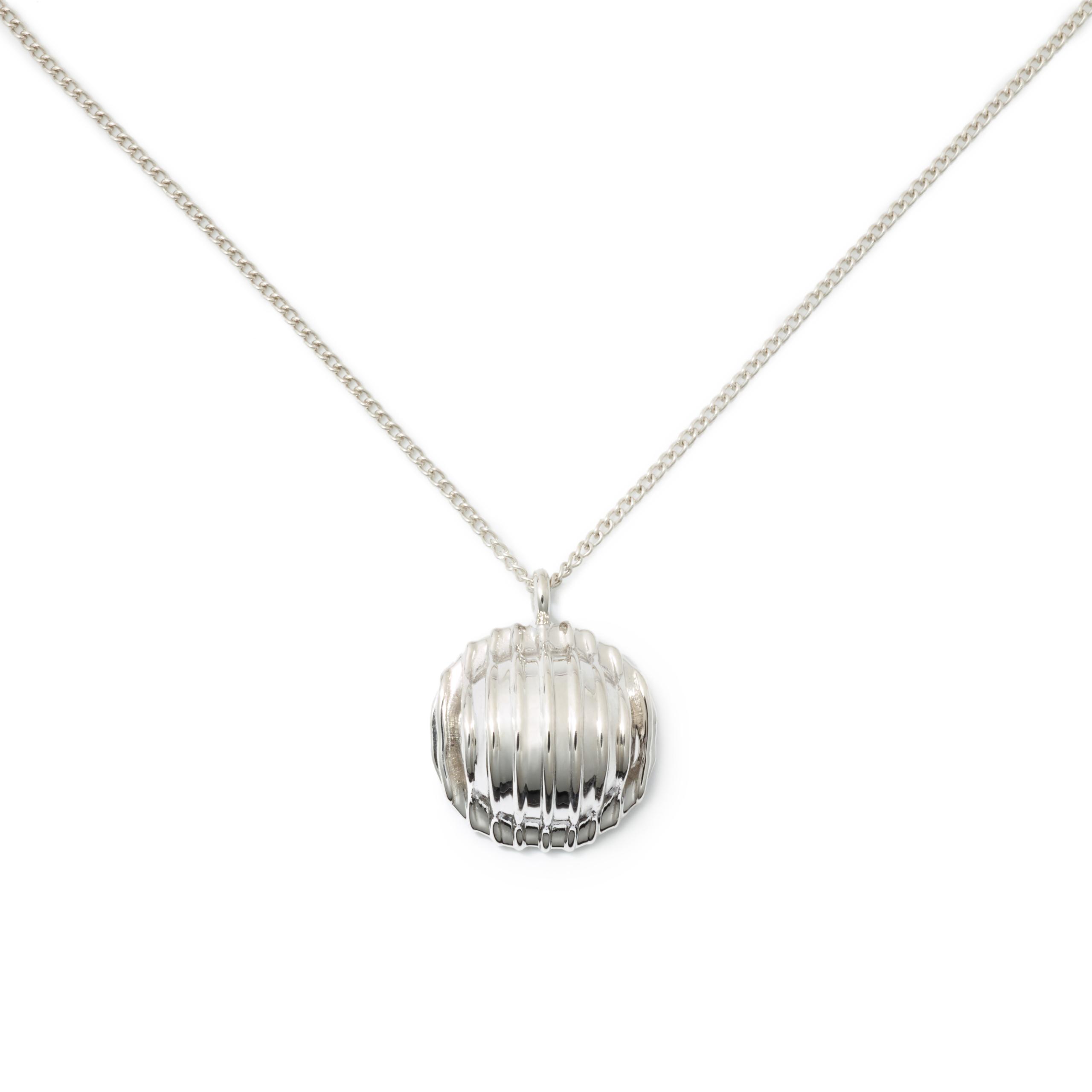 Orecchiette Necklace, Sterling Silver