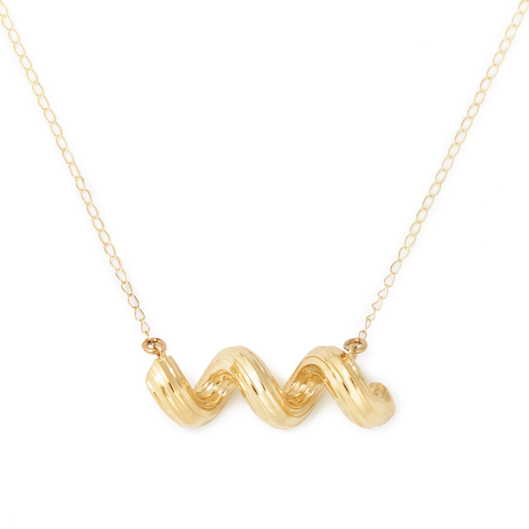 Cellentani Necklace, Yellow Gold Plated