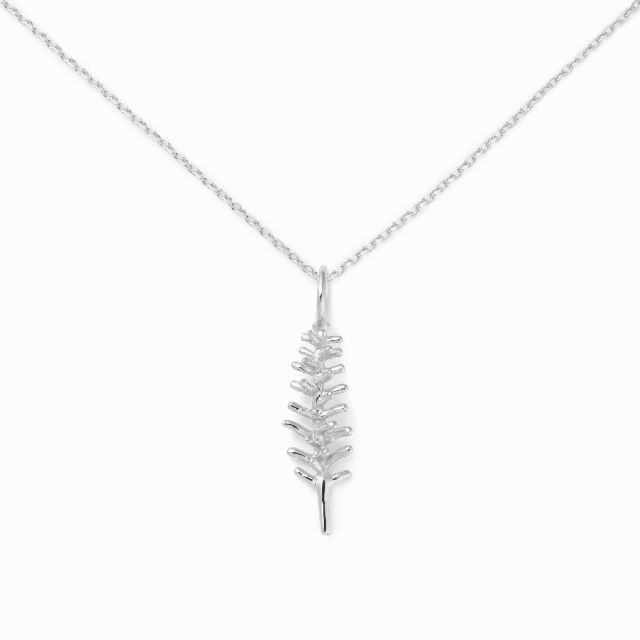 Rosemary Necklace, Sterling Silver