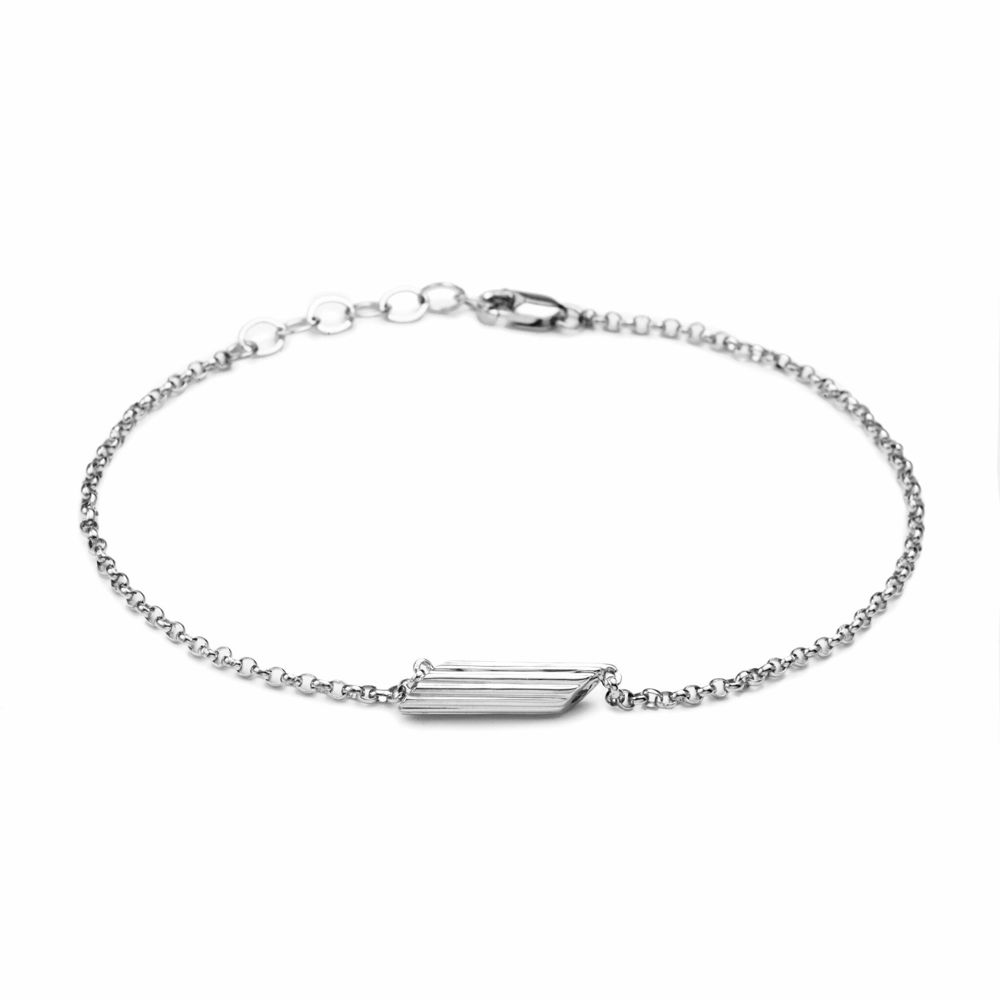 Penne Bracelet, Mini Size, Sterling Silver