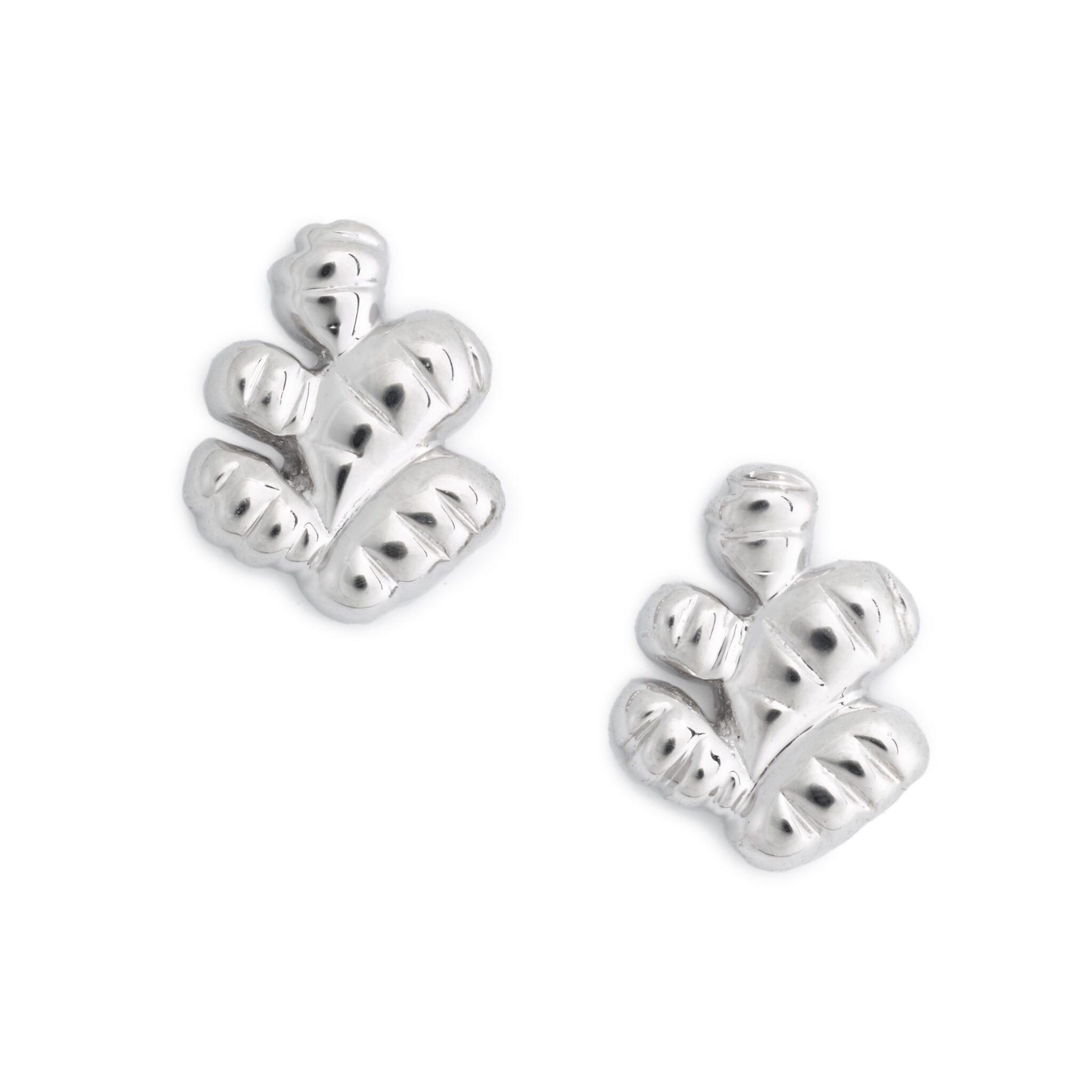 Ginger Earrings, Sterling Silver