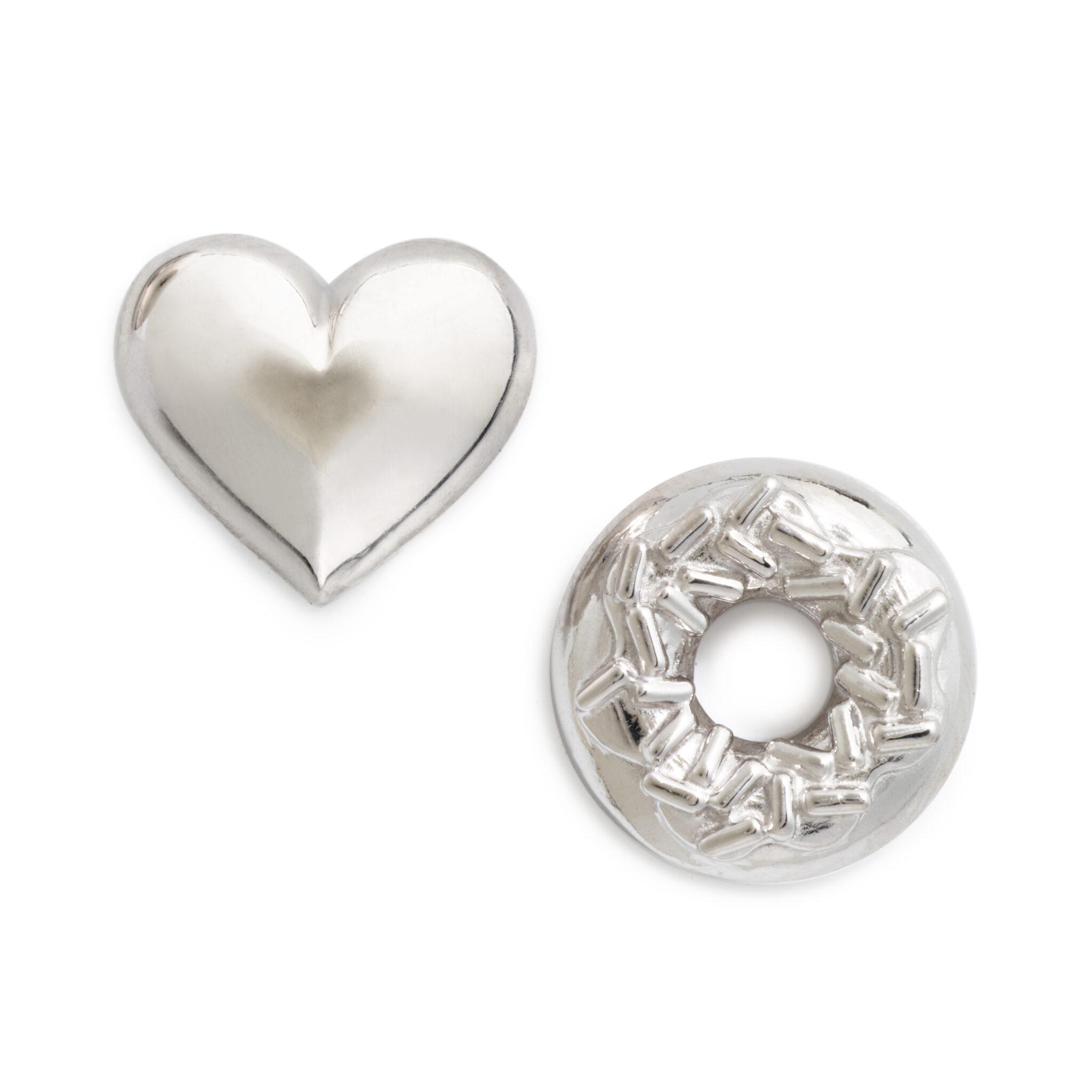 I Love Sprinkles Earring Set (mismatched pair), Sterling Silver