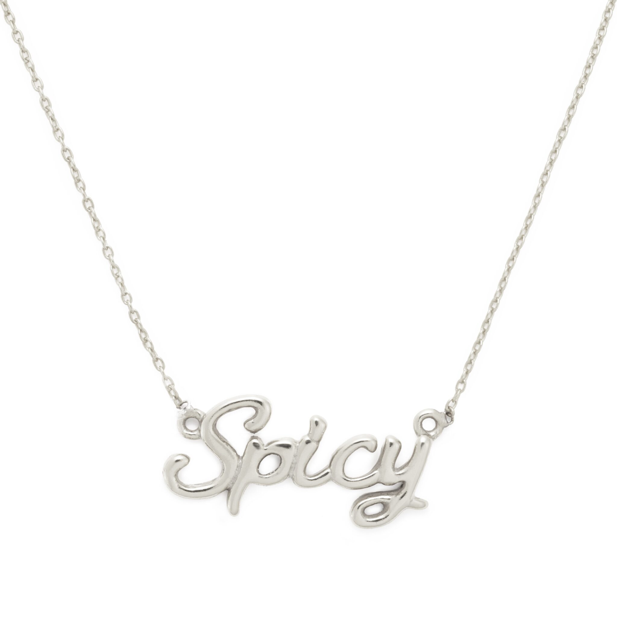 Spicy Necklace, Sterling Silver