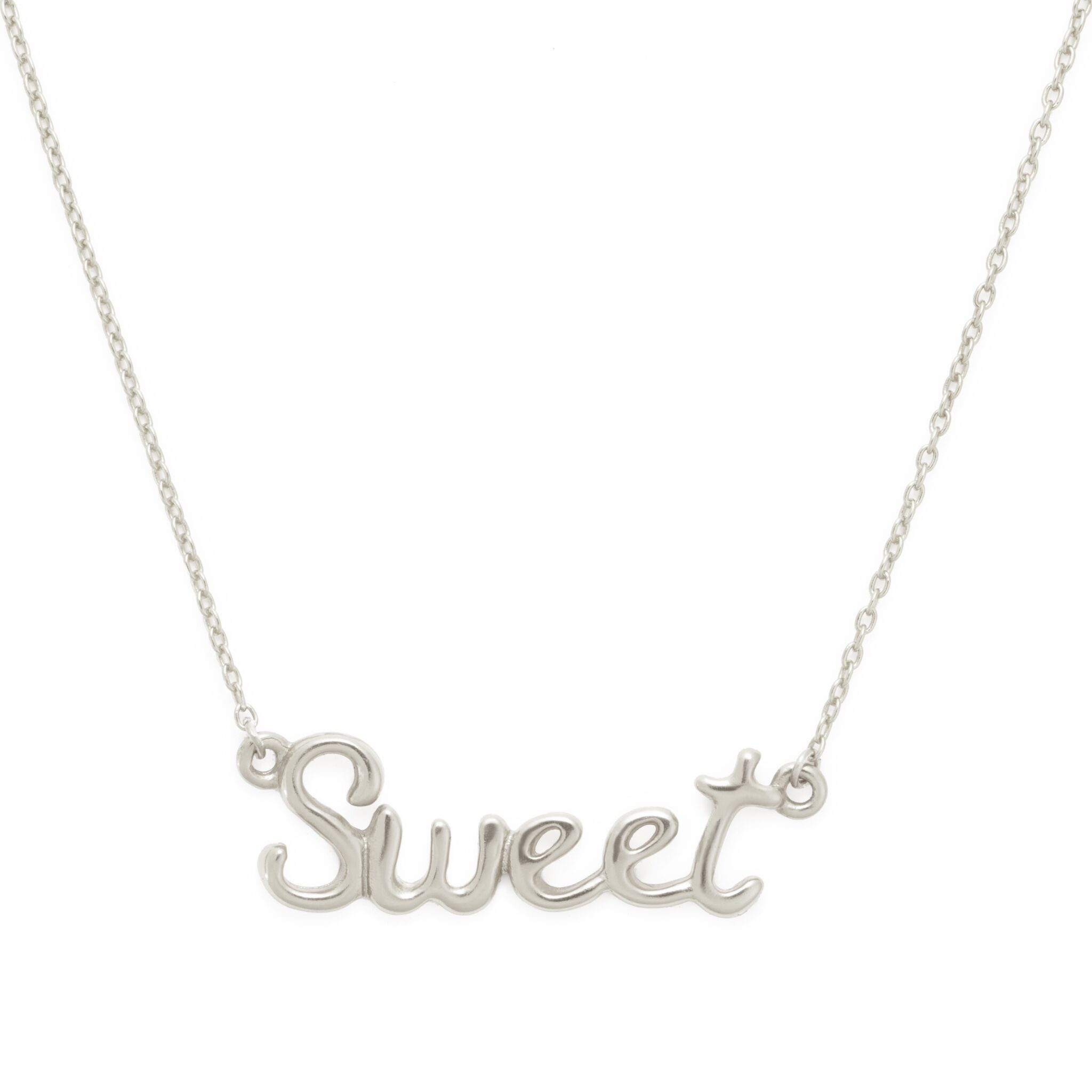 Sweet Necklace, Sterling Silver